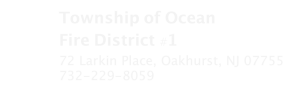 Township of Ocean Fire District #1